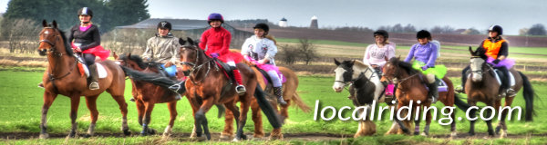 Local Riders and their horses