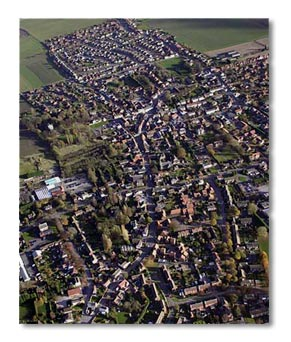 The Town of Epworth in lincolnshire