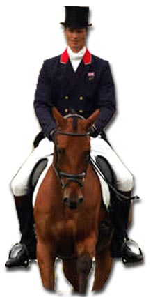 Equestrian Eventing Dressage Phase