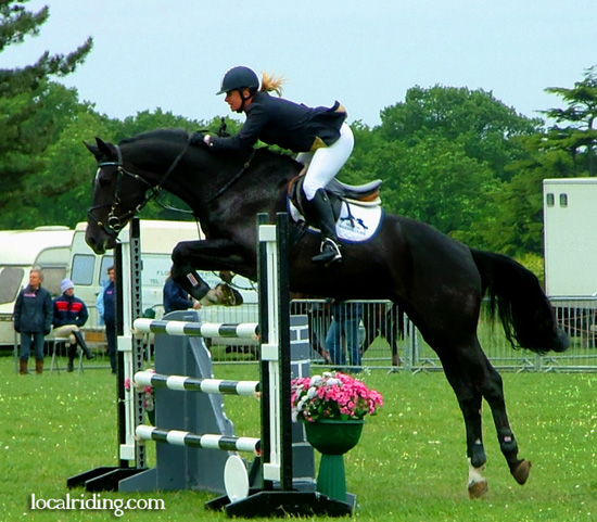 Counting Strides in Showjumping