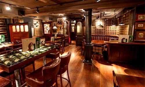 Londons Jamaica Wine House Pub