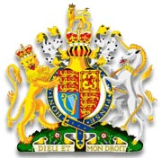 England - The UK Royal Coat of Arms