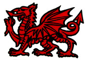 Wales and welsh symbols - the welsh dragon