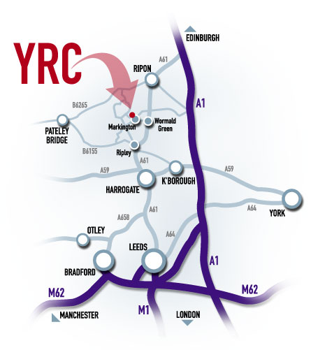 Directions to The Yorkshire Riding Centre
