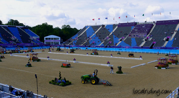 Olympic Dressage Arena 2012