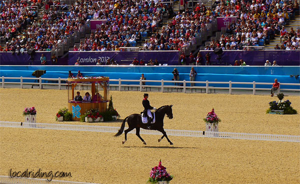Olympics 2012 Carl Hester and Uthopia