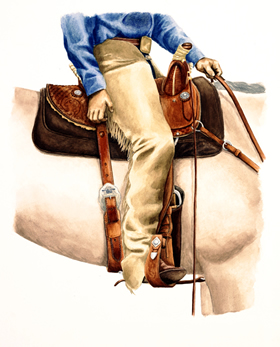 Beginners Guide to Horse Back Riding - Western Saddle