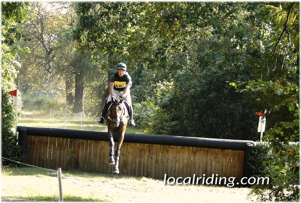 British Eventing Cross Country Obstacle