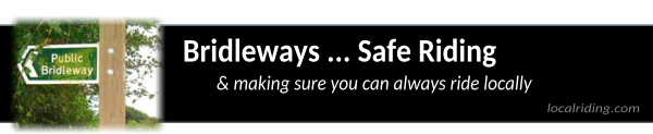 UK Bridleways - Safe Local Riding