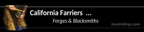 California Farriers & Blacksmiths