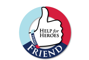 Help for Heroes Friends logo