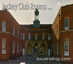 The Jockey Club Rooms in Newmarket Suffolk