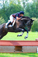 Equestrian Eventing - cross country phase