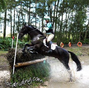 Equestrian Eventing levels - Advance cross country phase
