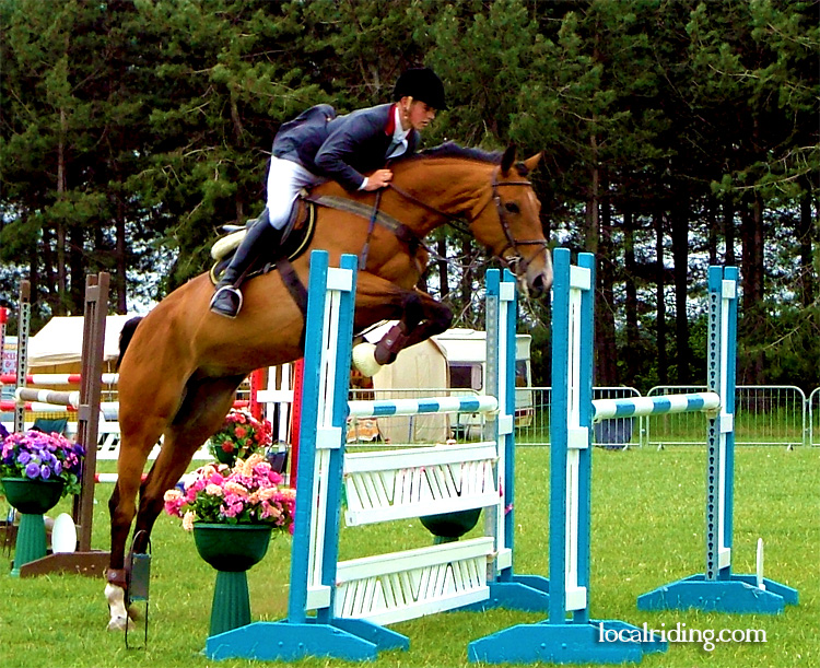 Local Riders Show Jumping at Oldcotes 2